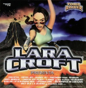 CD Lara Croft Presenta