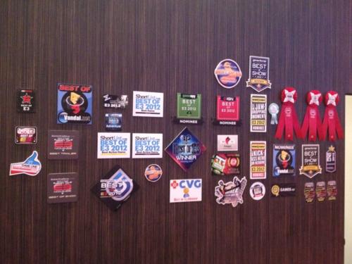 les prix et nominations E3 2012