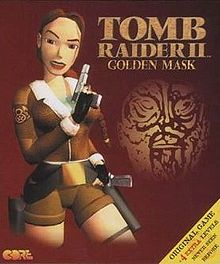 la pochette de Tomb Raider 2 Golden Mask