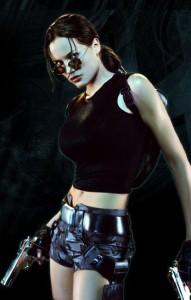 Jill de Jong en Lara Croft