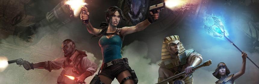 La pochette du jeu Lara Croft et le Temple d'Osiris