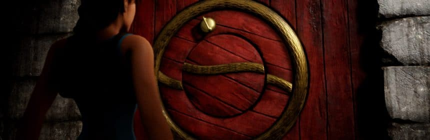 La porte de Xian dans Tomb Raider : Dague of Xian par Nicobass
