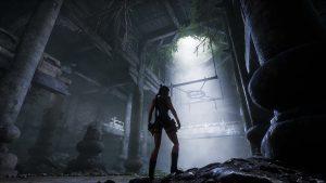 Les entrailles de la muraille de Chine dans Tomb Raider 2 par Nicobass