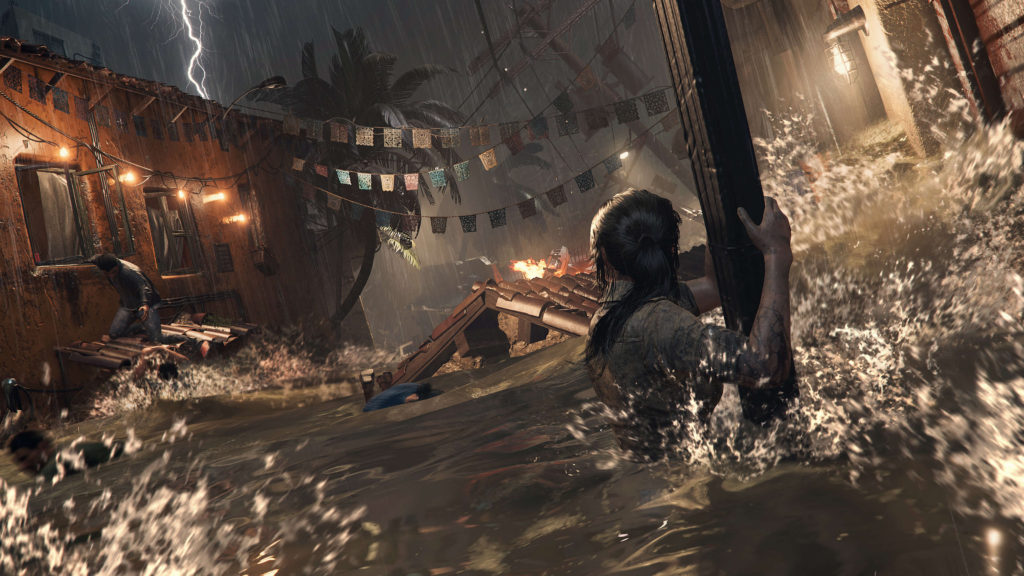 Tsunami au Mexique dans Shadow of the tomb raider