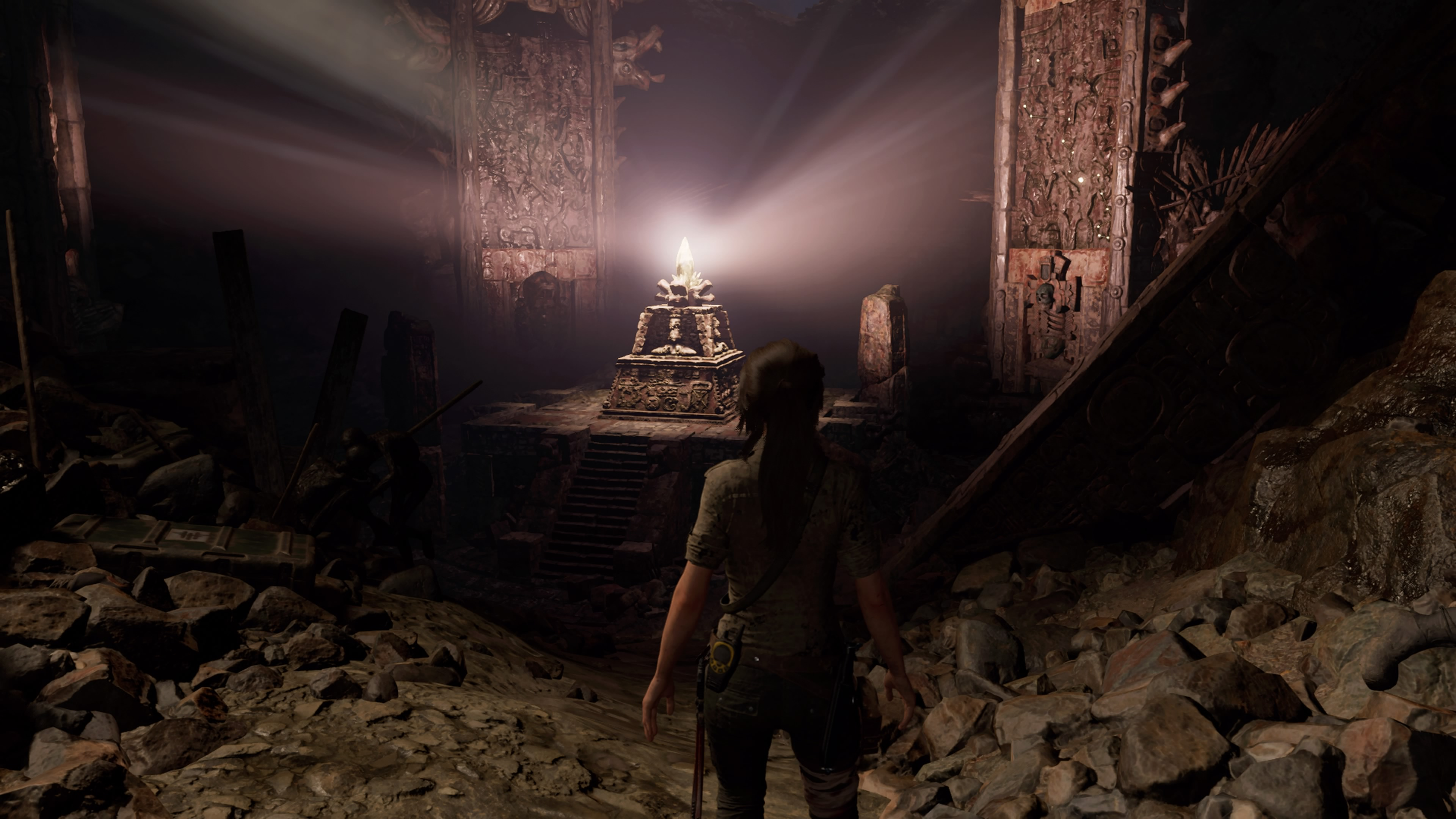 Une tombe dans Shadow of the tomb raider