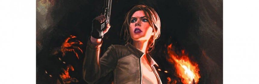 Lara Croft par Andy Park (comic #9 par Dark Horse)