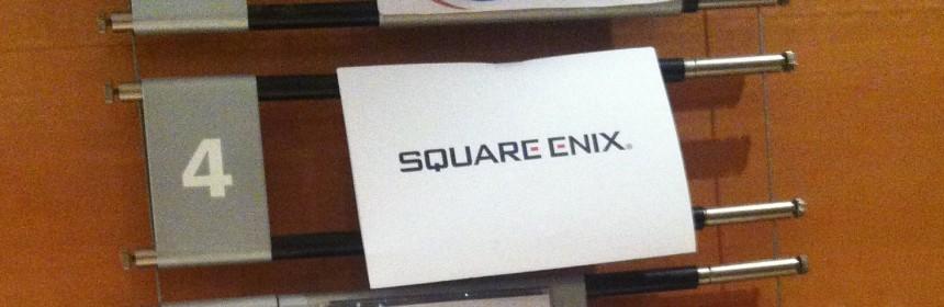 Square Enix est au 4ème étage !