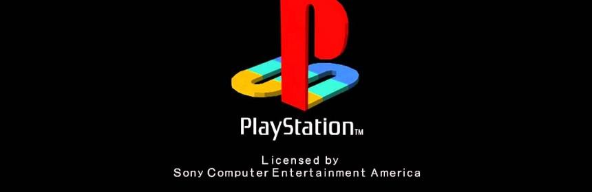 Ecran de lancement de la Playstation de Sony